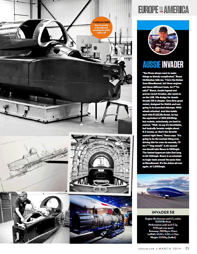 Top Gear magazine article March 2014 - Page 4